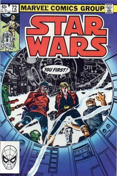 Star Wars #72 comic books - cover scans photos Star Wars #72 comic books - covers, picture gallery