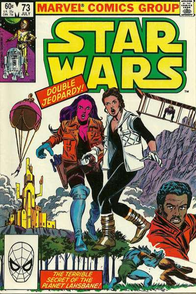 Star Wars #73 comic books - cover scans photos Star Wars #73 comic books - covers, picture gallery