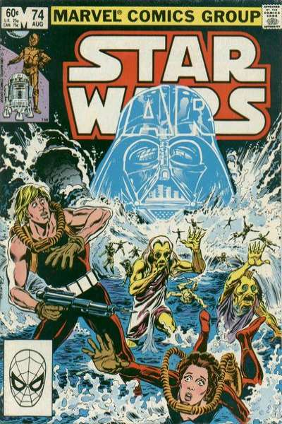 Star Wars #74 comic books - cover scans photos Star Wars #74 comic books - covers, picture gallery