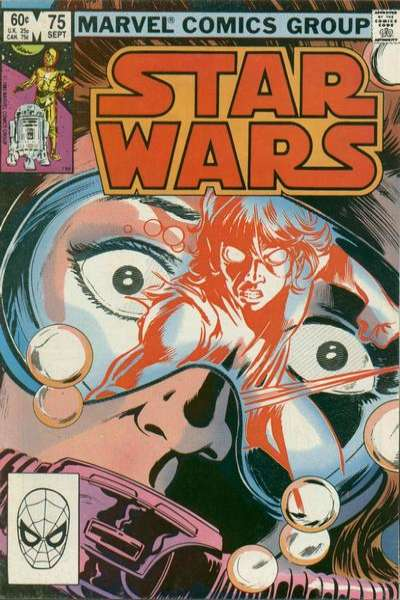 Star Wars #75 comic books - cover scans photos Star Wars #75 comic books - covers, picture gallery