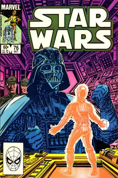 Star Wars #76 comic books - cover scans photos Star Wars #76 comic books - covers, picture gallery