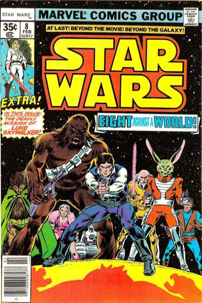 Star Wars #8 comic books - cover scans photos Star Wars #8 comic books - covers, picture gallery