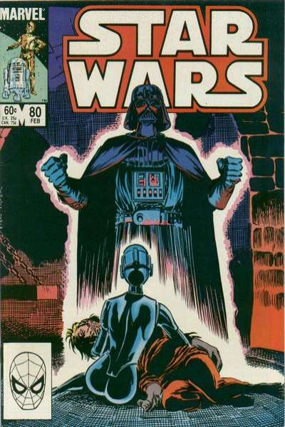 Star Wars #80 comic books - cover scans photos Star Wars #80 comic books - covers, picture gallery