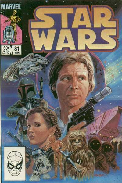 Star Wars #81 comic books - cover scans photos Star Wars #81 comic books - covers, picture gallery