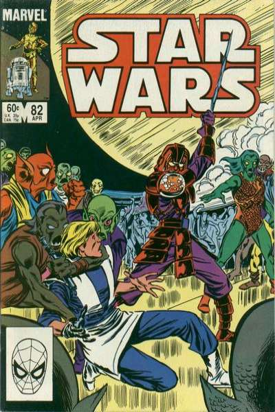 Star Wars #82 Comic Books - Covers, Scans, Photos  in Star Wars Comic Books - Covers, Scans, Gallery