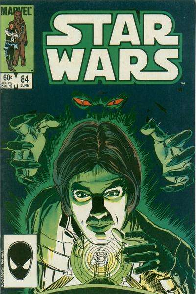 Star Wars #84 comic books - cover scans photos Star Wars #84 comic books - covers, picture gallery