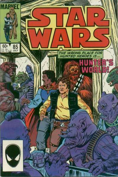 Star Wars #85 comic books - cover scans photos Star Wars #85 comic books - covers, picture gallery
