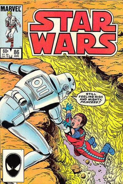 Star Wars #86 comic books - cover scans photos Star Wars #86 comic books - covers, picture gallery