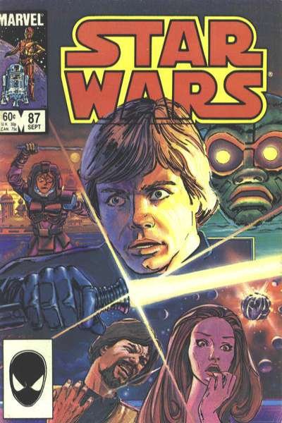 Star Wars #87 comic books - cover scans photos Star Wars #87 comic books - covers, picture gallery