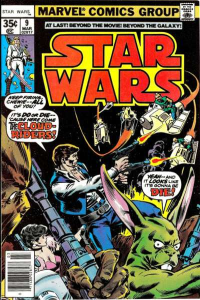 Star Wars #9 comic books - cover scans photos Star Wars #9 comic books - covers, picture gallery