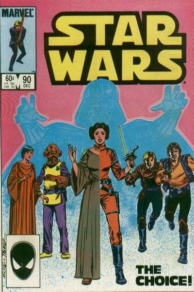 Star Wars #90 comic books - cover scans photos Star Wars #90 comic books - covers, picture gallery