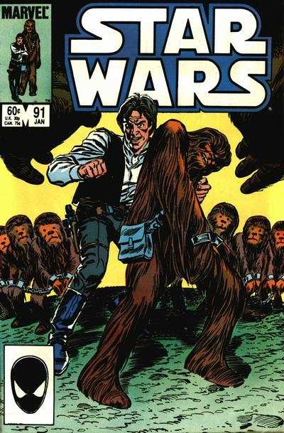 Star Wars #91 comic books - cover scans photos Star Wars #91 comic books - covers, picture gallery