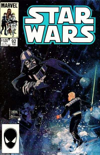Star Wars #92 comic books - cover scans photos Star Wars #92 comic books - covers, picture gallery