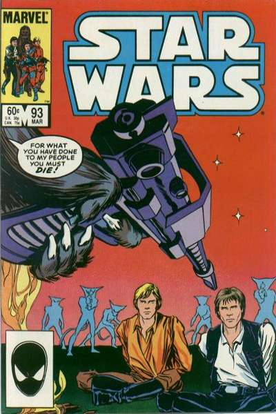 Star Wars #93 comic books - cover scans photos Star Wars #93 comic books - covers, picture gallery