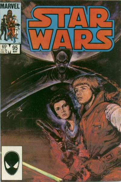 Star Wars #95 comic books - cover scans photos Star Wars #95 comic books - covers, picture gallery