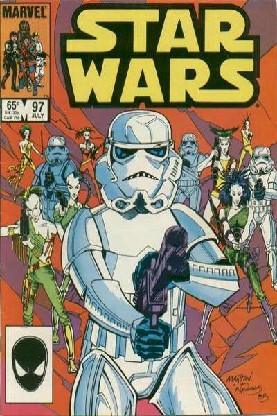 Star Wars #97 comic books - cover scans photos Star Wars #97 comic books - covers, picture gallery