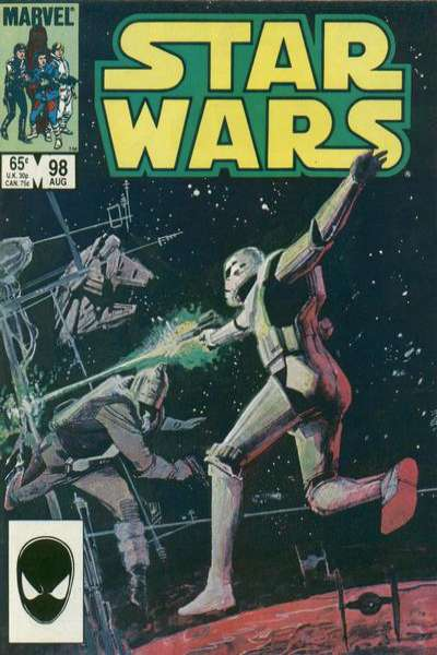 Star Wars #98 comic books - cover scans photos Star Wars #98 comic books - covers, picture gallery