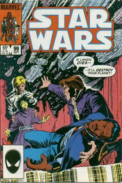 Star Wars #99 comic books - cover scans photos Star Wars #99 comic books - covers, picture gallery