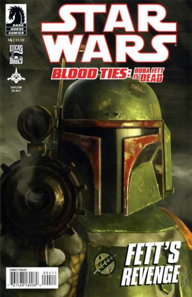 Star Wars: Blood Ties - Boba Fett is Dead #4 comic books - cover scans photos Star Wars: Blood Ties - Boba Fett is Dead #4 comic books - covers, picture gallery