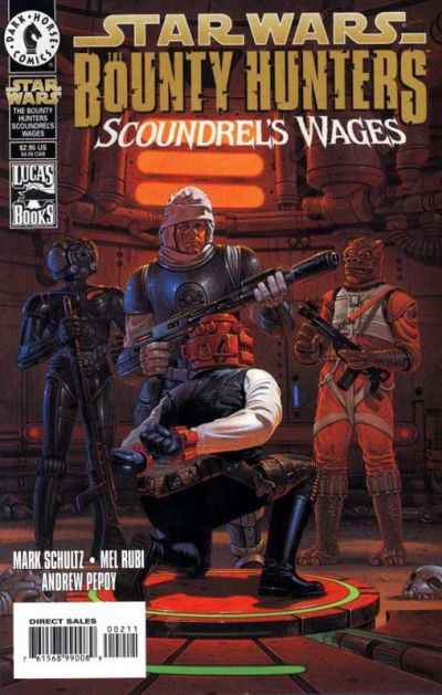 Star Wars: Bounty Hunters: Scoundrel's Wages #1 comic books for sale