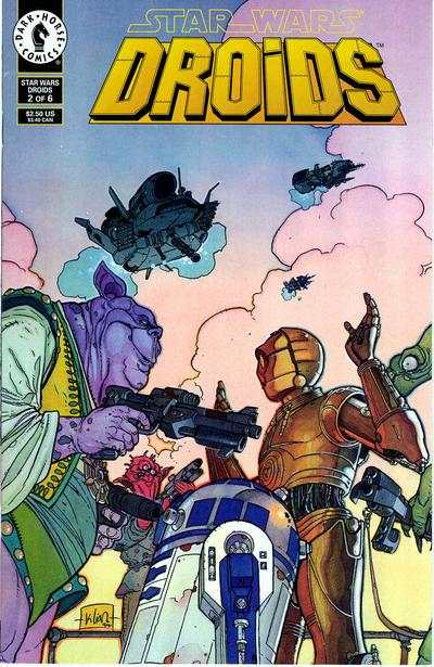 Star Wars: Droids #2 comic books - cover scans photos Star Wars: Droids #2 comic books - covers, picture gallery