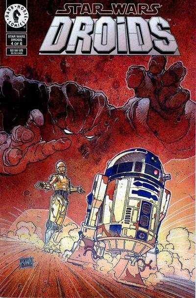 Star Wars: Droids #4 comic books - cover scans photos Star Wars: Droids #4 comic books - covers, picture gallery