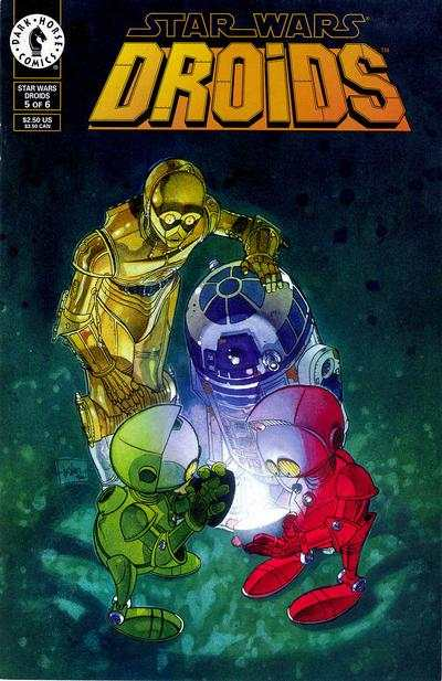 Star Wars: Droids #5 comic books for sale