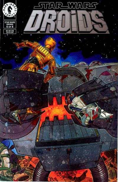 Star Wars: Droids #6 comic books - cover scans photos Star Wars: Droids #6 comic books - covers, picture gallery