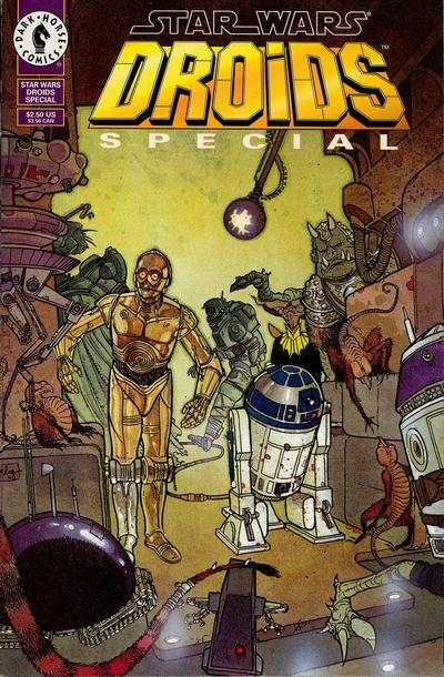Star Wars: Droids #1 comic books - cover scans photos Star Wars: Droids #1 comic books - covers, picture gallery