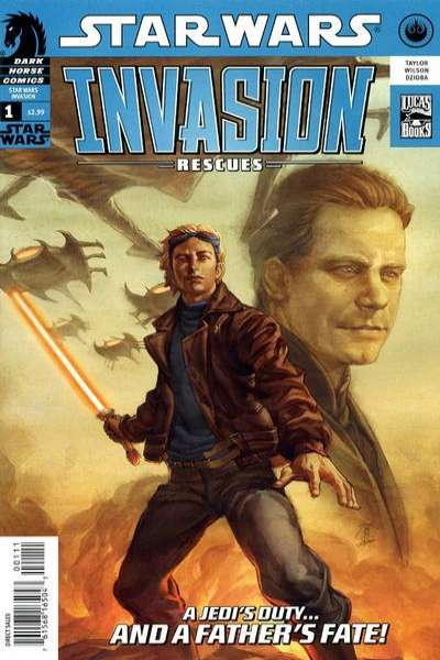 Star Wars: Invasion - Rescues comic books