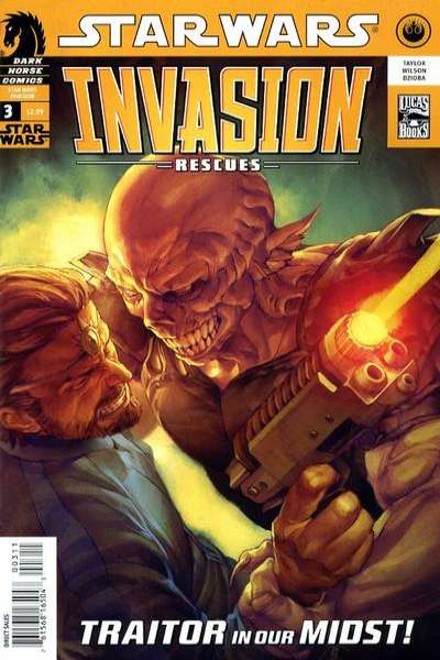 Star Wars: Invasion - Rescues #3 Comic Books - Covers, Scans, Photos  in Star Wars: Invasion - Rescues Comic Books - Covers, Scans, Gallery