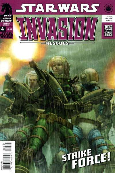 Star Wars: Invasion - Rescues #4 comic books - cover scans photos Star Wars: Invasion - Rescues #4 comic books - covers, picture gallery
