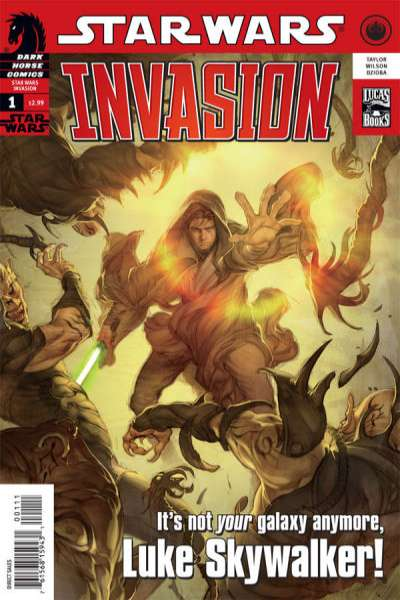 Star Wars: Invasion comic books