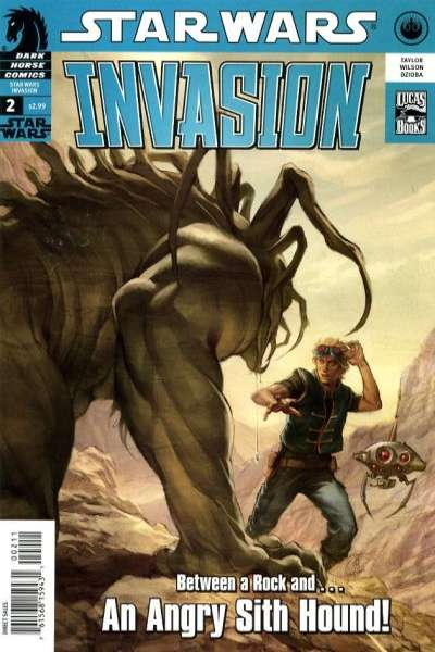 Star Wars: Invasion #2 Comic Books - Covers, Scans, Photos  in Star Wars: Invasion Comic Books - Covers, Scans, Gallery