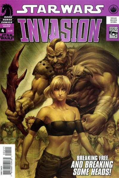Star Wars: Invasion #4 Comic Books - Covers, Scans, Photos  in Star Wars: Invasion Comic Books - Covers, Scans, Gallery