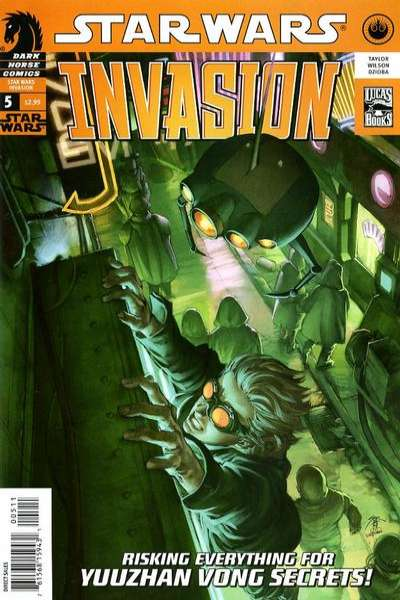Star Wars: Invasion #5 comic books - cover scans photos Star Wars: Invasion #5 comic books - covers, picture gallery