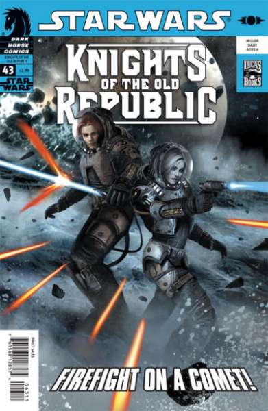 Star Wars: Knights of the Old Republic #43 comic books - cover scans photos Star Wars: Knights of the Old Republic #43 comic books - covers, picture gallery