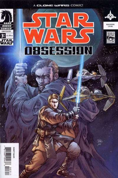 Star Wars: Obsession #3 comic books for sale