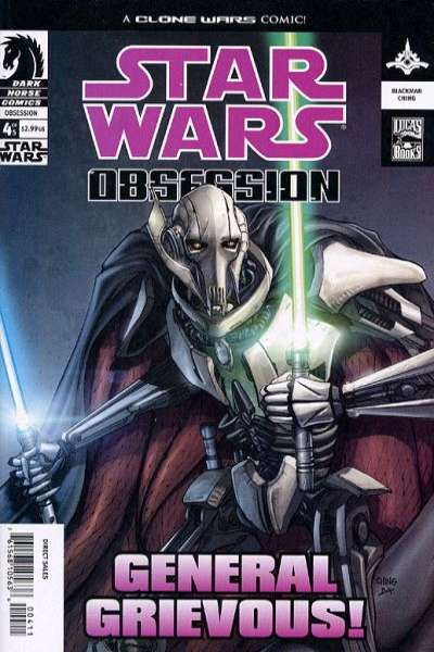 Star Wars: Obsession #4 Comic Books - Covers, Scans, Photos  in Star Wars: Obsession Comic Books - Covers, Scans, Gallery