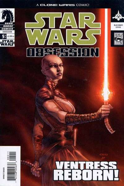 Star Wars: Obsession #5 comic books for sale