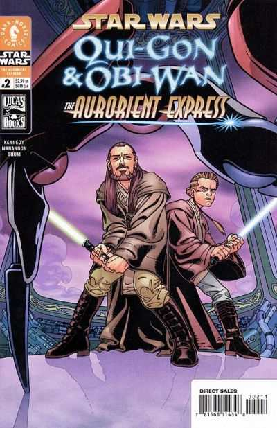 Star Wars: Qui-Gon & Obi-Wan - The Aurorient Express #2 Comic Books - Covers, Scans, Photos  in Star Wars: Qui-Gon & Obi-Wan - The Aurorient Express Comic Books - Covers, Scans, Gallery