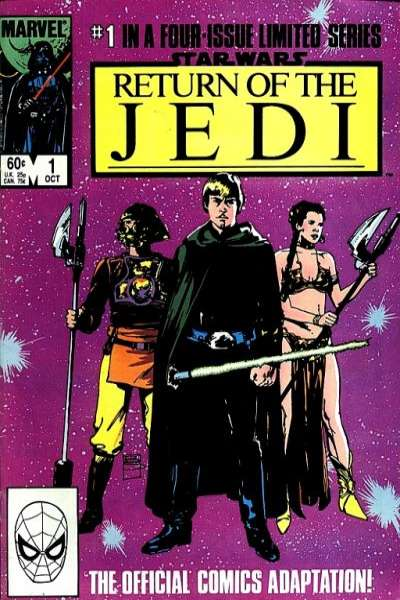 Star Wars: Return of the Jedi comic books