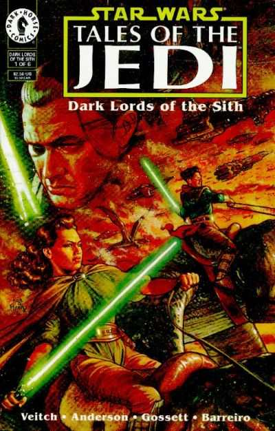 Star Wars: Tales of the Jedi-Dark Lords of the Sith #1 comic books - cover scans photos Star Wars: Tales of the Jedi-Dark Lords of the Sith #1 comic books - covers, picture gallery