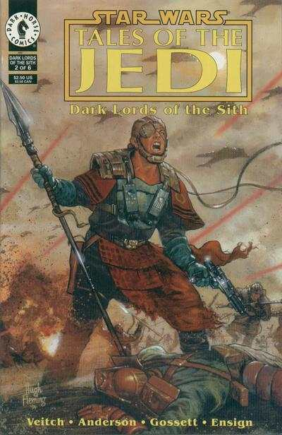 Star Wars: Tales of the Jedi-Dark Lords of the Sith #2 comic books for sale