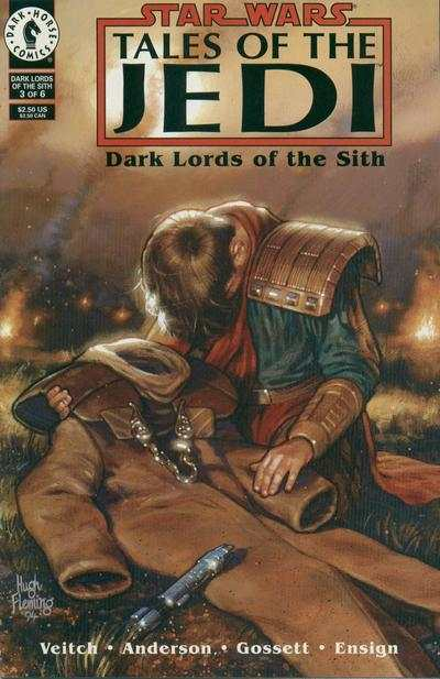 Star Wars: Tales of the Jedi-Dark Lords of the Sith #3 Comic Books - Covers, Scans, Photos  in Star Wars: Tales of the Jedi-Dark Lords of the Sith Comic Books - Covers, Scans, Gallery