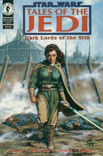 Star Wars: Tales of the Jedi-Dark Lords of the Sith #5 comic books - cover scans photos Star Wars: Tales of the Jedi-Dark Lords of the Sith #5 comic books - covers, picture gallery