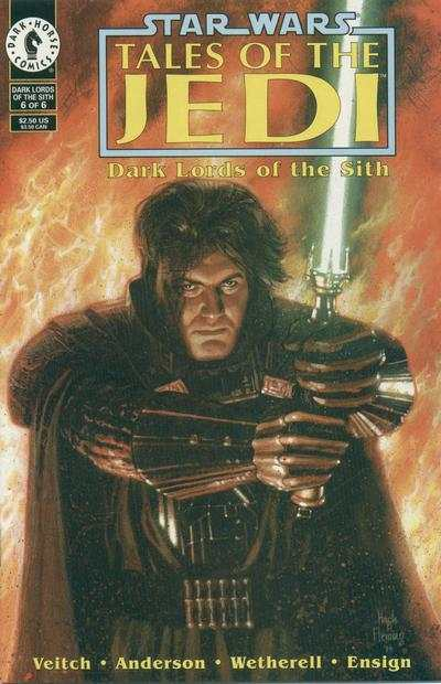 Star Wars: Tales of the Jedi-Dark Lords of the Sith #6 comic books - cover scans photos Star Wars: Tales of the Jedi-Dark Lords of the Sith #6 comic books - covers, picture gallery
