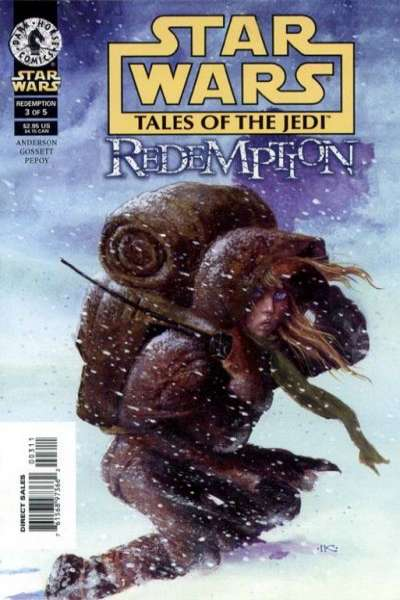 Star Wars: Tales of the Jedi-Redemption #3 Comic Books - Covers, Scans, Photos  in Star Wars: Tales of the Jedi-Redemption Comic Books - Covers, Scans, Gallery