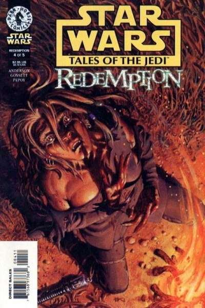 Star Wars: Tales of the Jedi-Redemption #4 Comic Books - Covers, Scans, Photos  in Star Wars: Tales of the Jedi-Redemption Comic Books - Covers, Scans, Gallery
