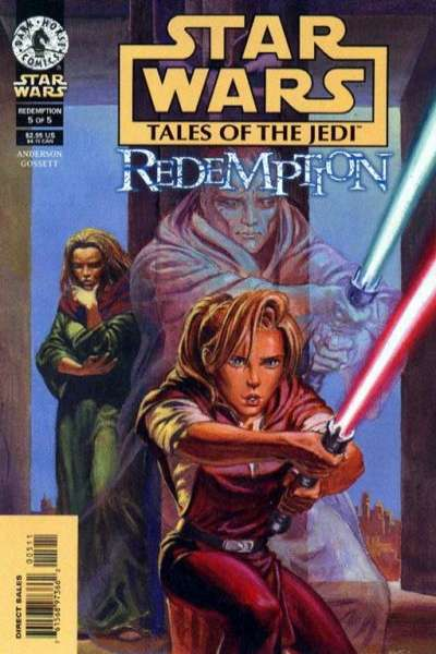 Star Wars: Tales of the Jedi-Redemption #5 Comic Books - Covers, Scans, Photos  in Star Wars: Tales of the Jedi-Redemption Comic Books - Covers, Scans, Gallery